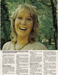 Agnetha in Allers