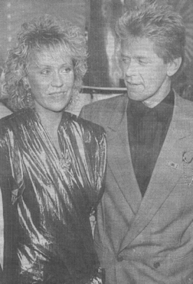 Agnetha and Peter Cetera